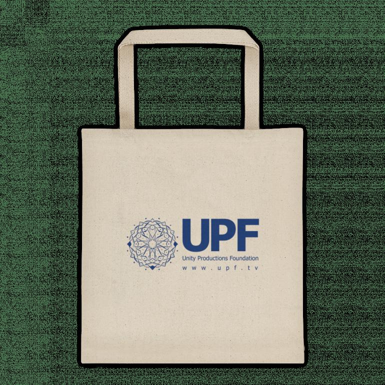 upf tote bag 12 oz front side