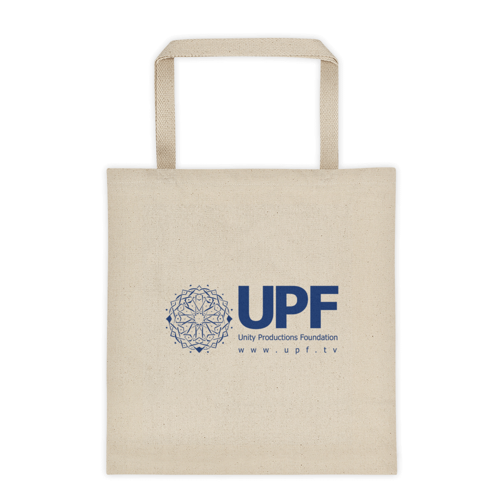 upf tote bag 12 oz front side