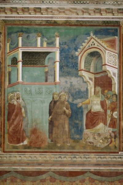 sultan and the saint film fresco legend of saint francis upper church basilica di san francesco