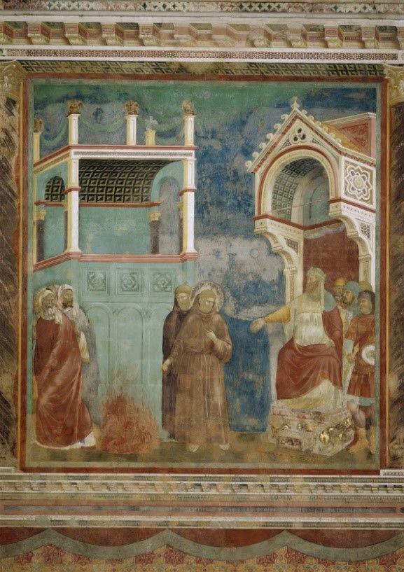 sultan and the saint film fresco legend of saint francis upper church basilica di san francesco