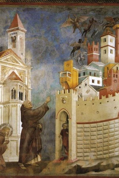 sultan and the saint film giotto di bondone expulsion of the devils from arezzo