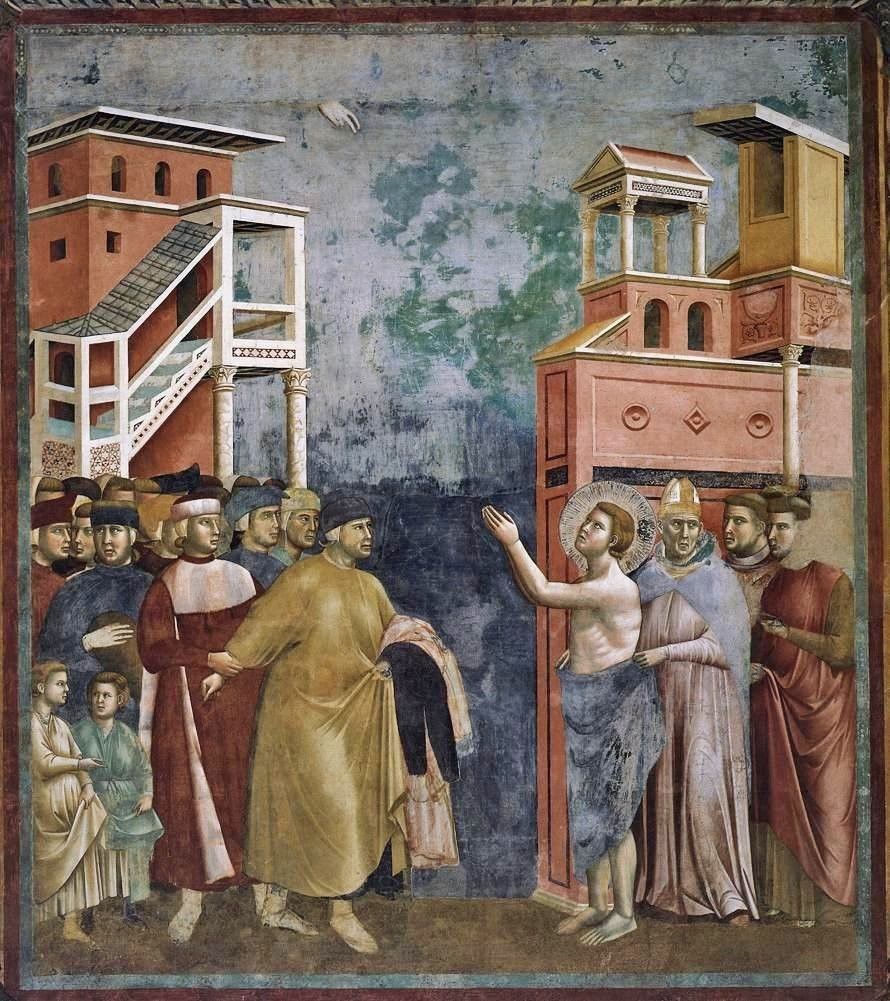 sultan and the saint film giotto di bondone legend of st francis 5 renunciation of worldy goods