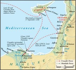 sultan and the saint film map of eastern mediterranean closeup