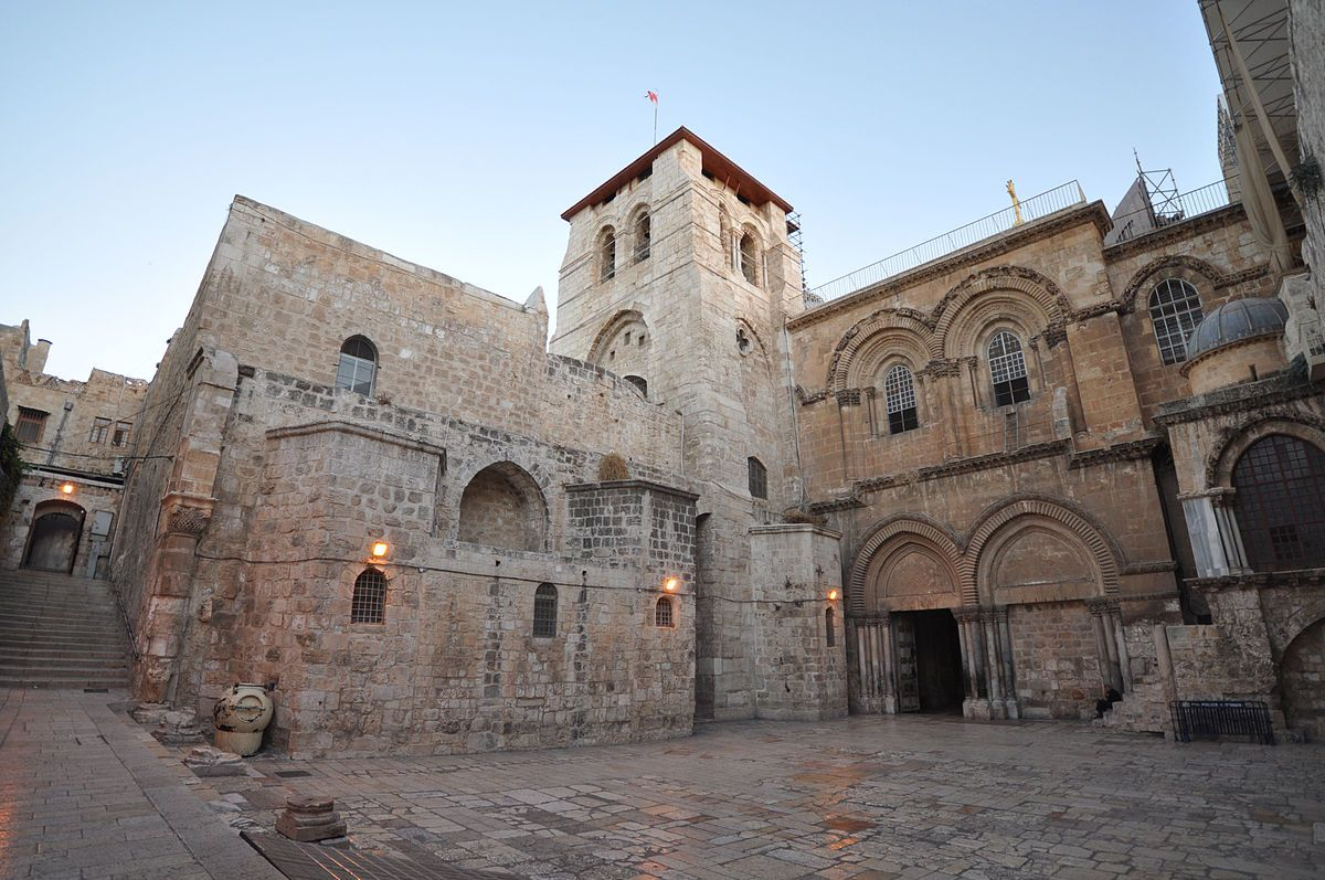 Church of the Holy Sepulchre To Get Rehab From A King